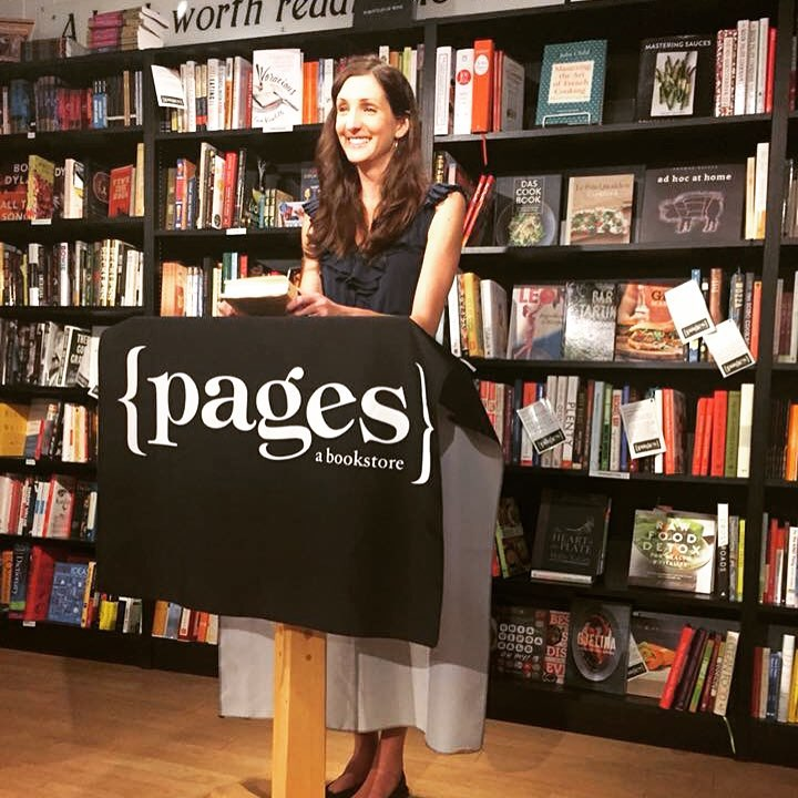 Pages bookstore event